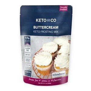 Keto&Co Keto Frosting Mix Butter Cream 8.1oz