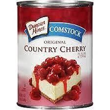 Comstock Pie Fill Original Cherry 21oz