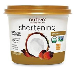 Nutiva Shortening Organic 15oz