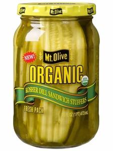 Mt. Olive Dill Kosher Sandwich Stuffers Organic 16oz