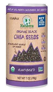 Himalania Chia Seeds Black Shaker Organic 7oz
