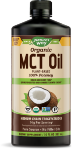 Nature's Way MCT Oil Organic 100% 30oz