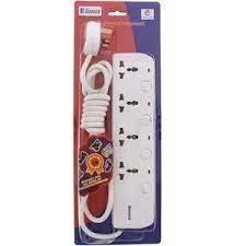 Sirocco Extn Socket 4 Way W1304S-2M 1pc