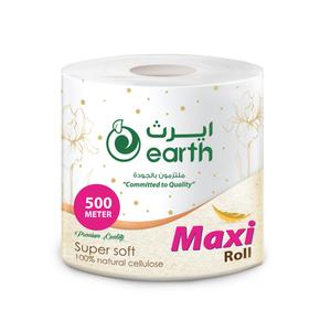 Earth Jumbo Maxi Roll White 1pack