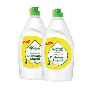 Earth Dishwashing Liquid 2x750ml