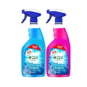 Earth Glass & Surface Cleaner Rose & Blue 2x800ml