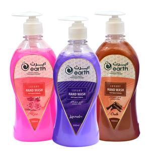 Earth Hand Wash Liquid Assorted 3x500ml