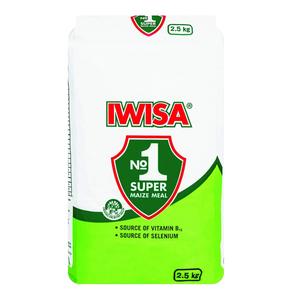 Iwisa Super Maize Meal Paper Bag 2.5kg
