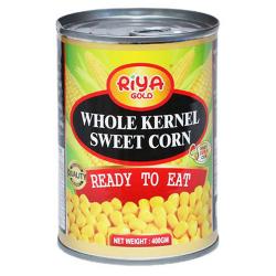 Riya Gold Whole Kernel Sweet Corn 400g