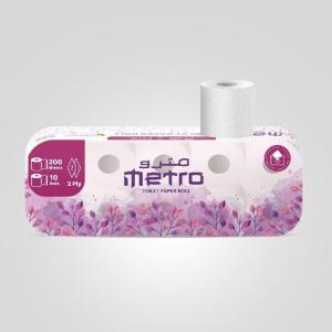 Metro Toilet Rolls 10x200s