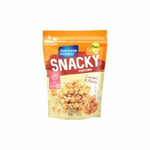 American Garden Snacky Popcorn Caramel Almond 80g
