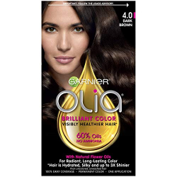 Garnier Olia Permanent Hair Color 5.0 Dark Blend 10% 1pc