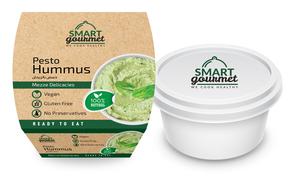 Smart Gourmet Hummus Zaatar Container 225g