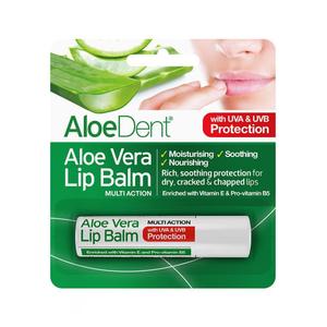Aloedent Aloe Vera Lip Balm 4g