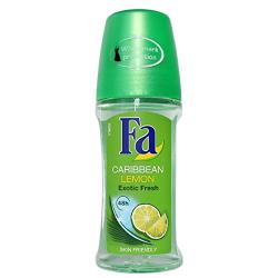Fa Roll On Caribbean Lemon 2x50ml