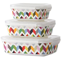French Bull Food Storage Multi Color 3s