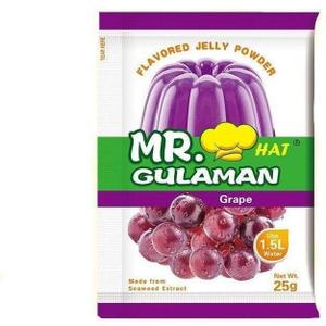 Mr.Gulaman Grapes Jelly Powder 25g