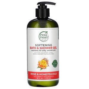 Petal Fresh Pure Refreshing Aloe & Citrus Bath & Shower Gel 16oz