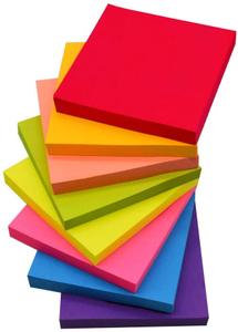 Sticky Notes 3X3-100s Rainbow 1pc