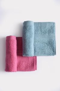 Style Plain Face Towel White 33x33 cm 1pc