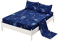 Royal King Bed Sheet Queen 3pcs