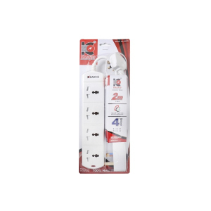 Kadris 3 Way Extension Socket N3DS-2 Meter 1pc