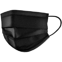 Swift Black Disposable Face Mask 1x50s