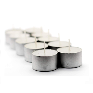 Amscan Candles Tealites Unscented 1pc