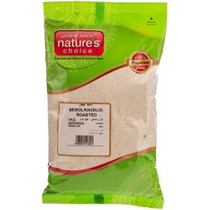Natures Choice Semolina Yellow Coarse 1kg