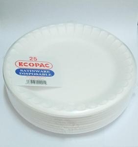 Ecopac Foam Plate 10.25 Inch 25pc