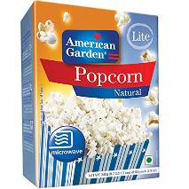 American Garden Popcorn Microwave Light 8.7oz