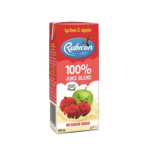 Rubicon Juice No Added Sugar Lychee & Apple 200ml