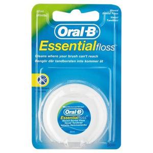 Oral B Dental Floss Wax Mint 50ml