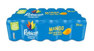 Rubicon Juice Sparkle Mango 330ml