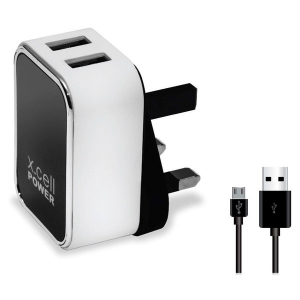 Xcell Home Charger Dual Usb 1pc