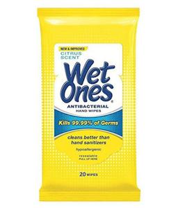 Wet Ones Wipes Ice Cool 20pc
