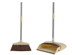 Sirocco Broom With Handle + Dustpan With Brush 1set