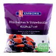 Emborg Frozen Blueberries & Strawberries 2x400g