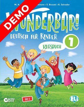 Wunderbar! Kursbuch 1 (demo)