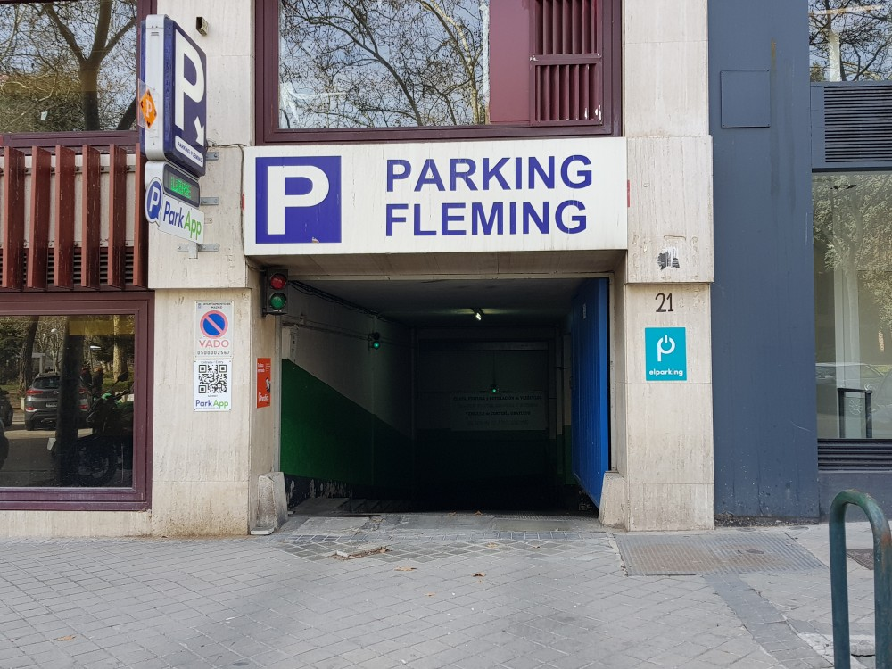 Aparcar en Parking Fleming-Madrid