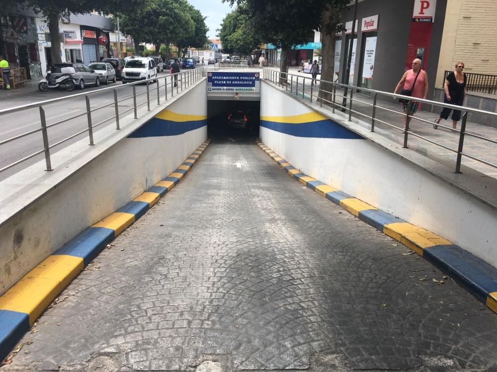 Aparca a Parking Plaza de Andalucía-Málaga