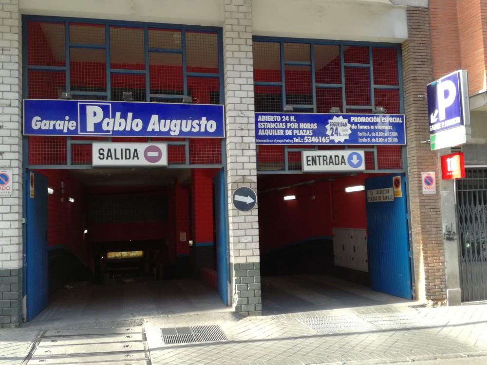 Garaje Pablo Augusto-Madrid(e)n aparkatu