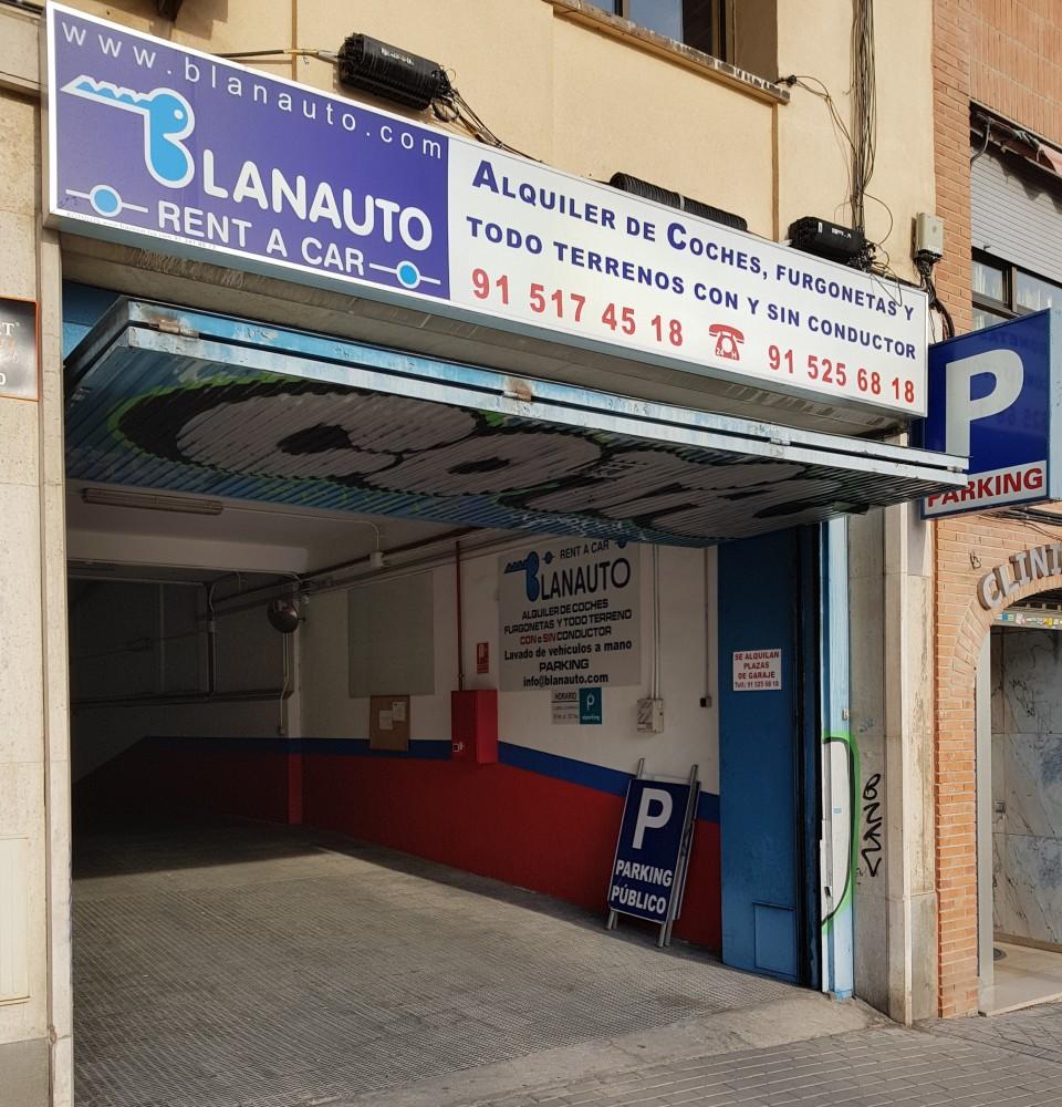Aparca a Parking Paseo de la Esperanza-Madrid