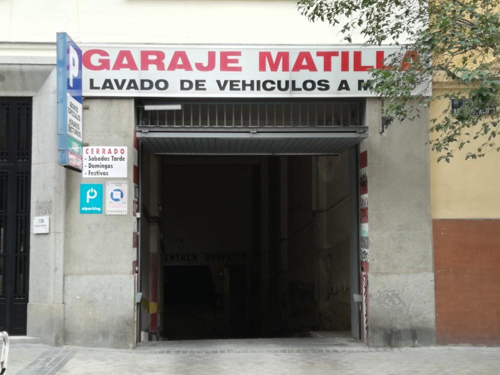 Aparcar en Garaje Matilla-Madrid