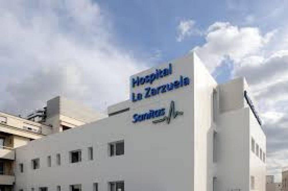 Aparcar en Hospital Sanitas la Zarzuela-Madrid