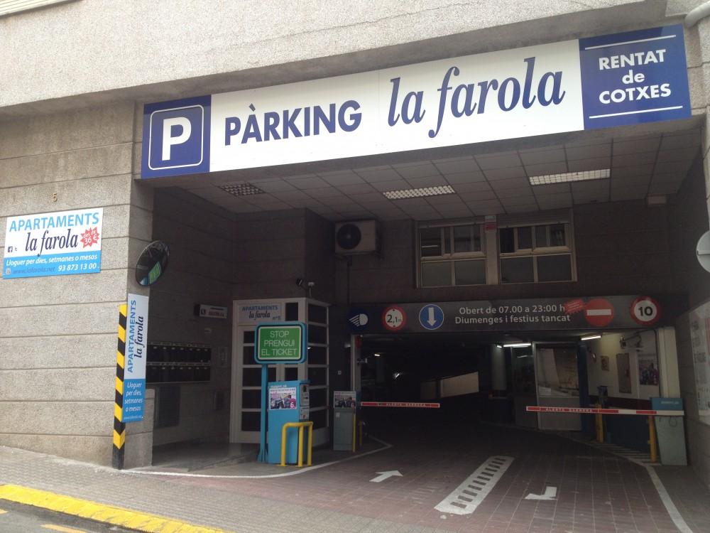 Aparcar en Parking La Farola-Barcelona