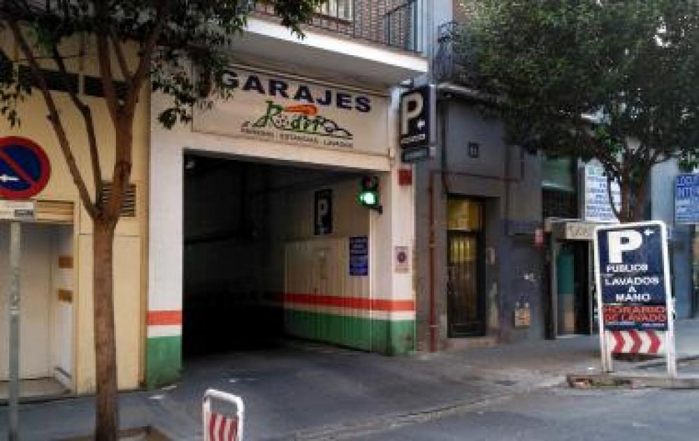 Park in Garaje Abtao-Madrid