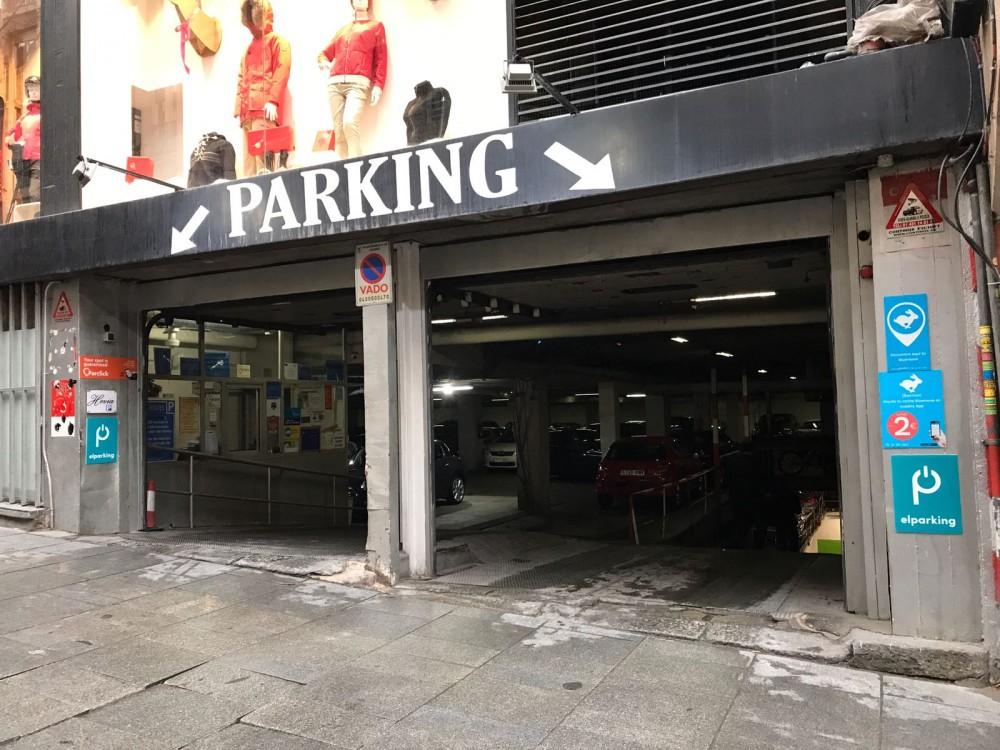 Aparcar en Parking Urban Concept General Oraá-Madrid