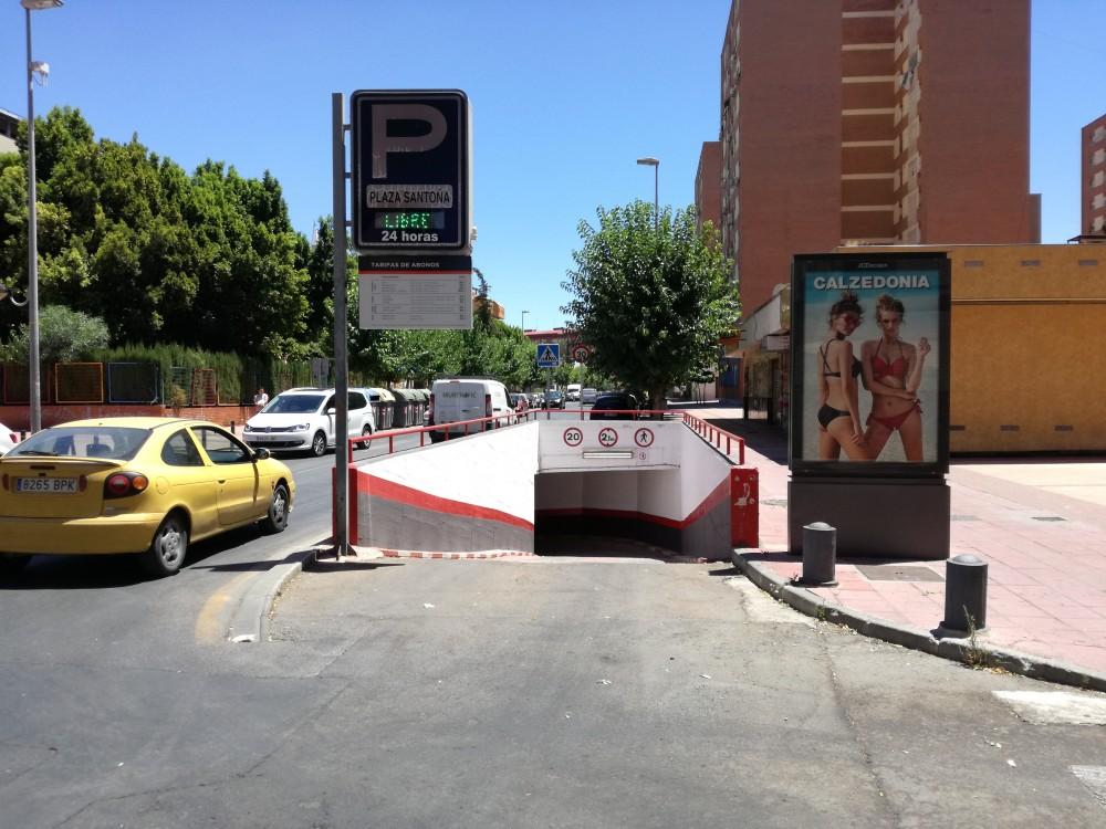Aparcar en Parking Plaza Santoña-Murcia