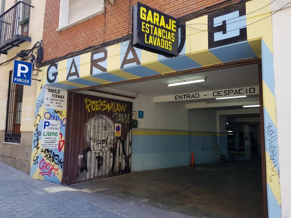 Garaje Fermar-Madrid(e)n aparkatu